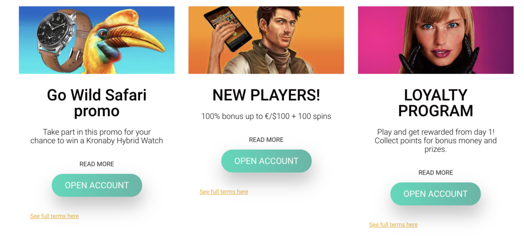 Wild Slots promotions