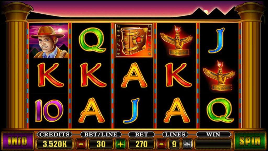 Book of Ra slot screenshot